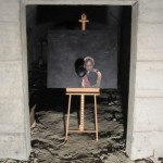 Selina Sorg: präsentation des Gemäldes