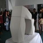 Svenja Wielath: Steinskulptur