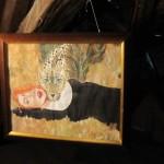 Viktoria Schmid: Ein Gemälde der Installation