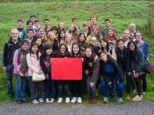 Besuch der thailändischen Austauschschüler