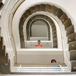 Treppenhaus im Seminargebäude