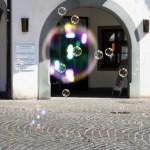 Seifenblasen (1/200 Sek. bei f/13, 45 mm)