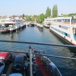 Die Fähre bringt uns nach Konstanz.