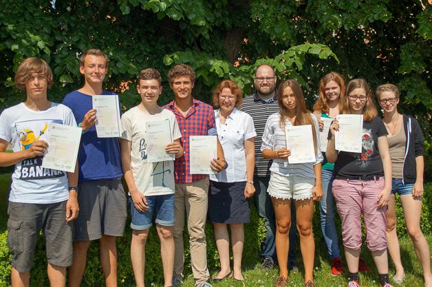 Herzlichen Glückwunsch zur Cambridge Prüfung!