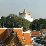Blick zum Temple of the Golden Mount