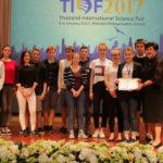 Das DHG nimmt an der Thailand International Science Fair 2017 teil