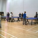 q_Playing table tennis
