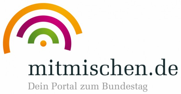 Jugendportal des Bundestages www.mitmischen.de