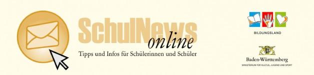 """SchulNews online – """"Tipps und Infos für Schülerinnen und Schüler"""""""