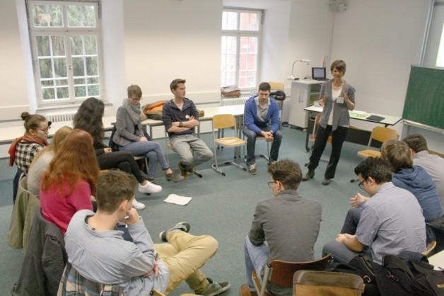 """Workshop """"Berufs- und Studieninformation"""""""