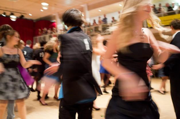Feierlicher Abschlussball der Tanz AG