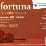 O Fortuna – Konzerte der 37. Meersburger Sommerakademie 2015