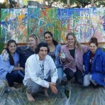 Action Painting im Internat