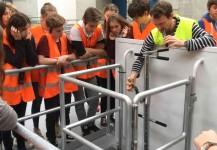 Exkursion zu den Wasserkraftwerken Rheinfelden 2016