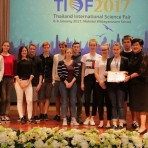 Das DHG nimmt an der Thailand International Science Fair 2017 teil