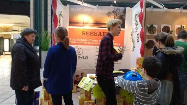 Seesaft an der Juniormesse