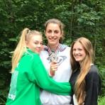 Wir gratulieren Johanna Siebler zur Silbermedaille