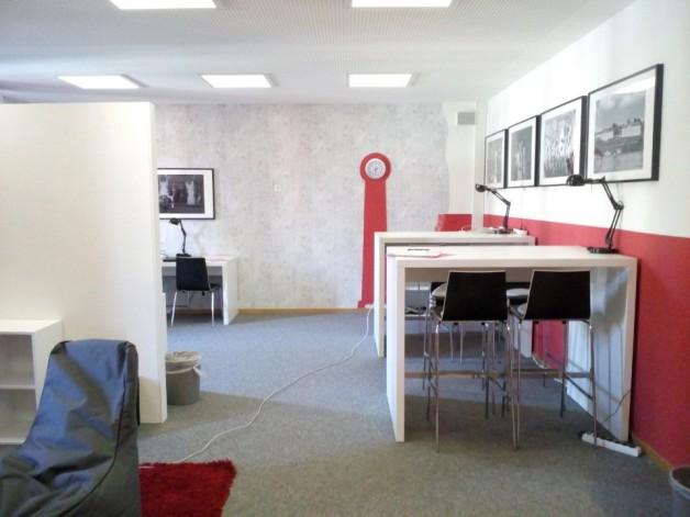 New Look des Internen-Internet-Cafés