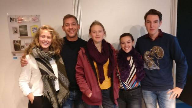 Unsere ABG3 beim Prix des lycéens allemands