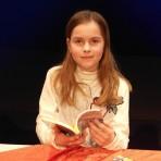 Lia aus der 6b gewinnt Vorlesewettbewerb