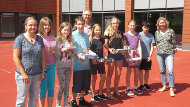 Preisträger im Mathe-Wettbewerb Känguru