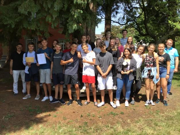 Die 9a gewinnt bei Mathematik ohne Grenzen