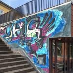 Ein Graffiti für's DHG