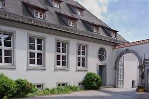 Das Torkelgebäude am Schlossplatz