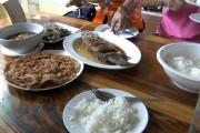 Thai Food auf dem Lande