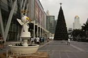 Der letzte Christbaum in Bangkok