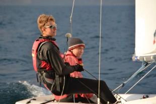 Hendrik Schaal (10ABG) mit seinem Bruder