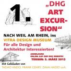 """Jetzt anmelden zur 1. """"DHG – ART EXCURSION"""""""