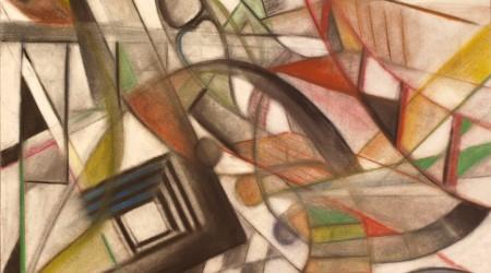 Abstrahierte Komposition mit Architekturausschnitten