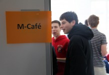 Eröffnung des M-Cafés