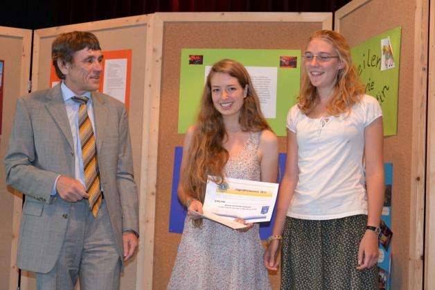 Auszeichnung mit dem Jugendförderpreis des Lions-Club