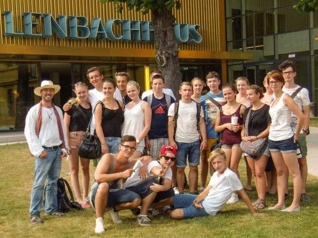 Die 10 ABG auf Klassenfahrt in München