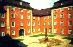 Innenhof des Seminargebäudes